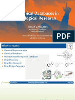 Chemical Databases for Drug Designing and Repurposing (2018)