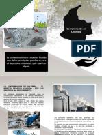 Contaminacion en Colombia