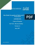 Safety Electrical  OSHAD