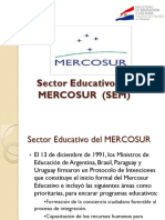 05-Sector Educativo MERCOSUR