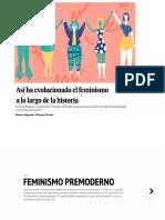 Historia del feminismo hasta el 2017