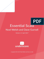 Essential Scala