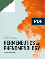 Saulius Geniusas, Paul Fairfield (Eds.)-Hermeneutics and Phenomenology Figures and Themes-Bloomsbury (2018)
