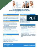 Programa Confeccion Ropa Deportiva
