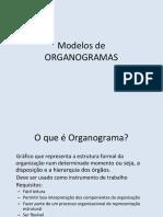Modelos de Organogramas