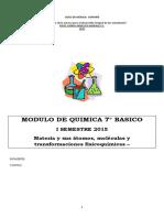 MODULO DE QUIMICA N°1 DE QUIMICA 7 BASICO MATERIA, ATOMO  ,MOLECULAS Y COMPUESTOS (1).docx
