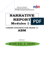 Career Narrative Abm