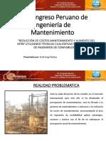 14.- Erick Pachas PERU - Reduccion de Costos de Mantto
