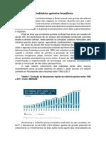 A industria quimica brasileira