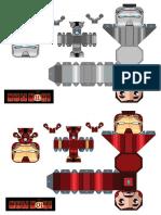 Mini Iron Man Template06