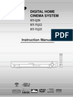 User manual Home Cinema Samsung 20060309163350406_HT-Q20-GB.pdf