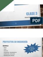 Clase 4 - Proyectos en Ingeniería