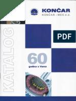 Končar Katalog Elektrom, PDF