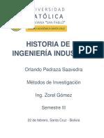 FINALEvolucion Del Conocimiento Cientifico en La Ingenieria Industrial