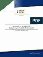 Manual de Auditoria de Desempeno