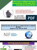 Presentacion Teoria y Normatividad Conciliacion Contable y Fiscal AG-D