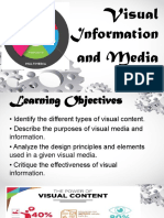 Visual Information and Media
