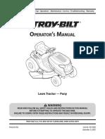 Troybilt Lawnmower Manual