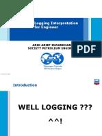well logging