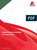 Axalta Paint Defects manual