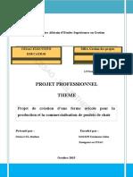 Projet Poulet Cote d Ivoire