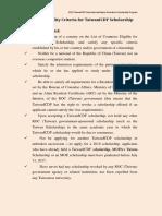 Eligibility Taiwan ICDF