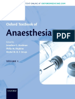 Oxford Textbook of Anaesthesia by Jonathan G Hardman