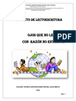 2018 Proyecto Lector