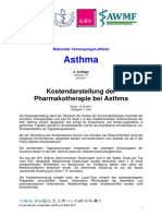 Asthma Kosten Pharmakotherapie