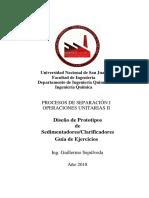 Guía de Ejercitación 01 2018 Sedimentación (1)