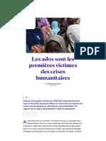 Les ados sont les premières victimes des crises humanitaires.pdf