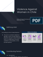 violence against women in chile