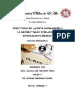 Parasitologia Filariasis Resumen