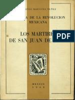 historia de la revolucion mexicana, los martires de san juan de ulua