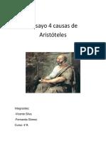 Ensayo 4 Causas de Aristóteles