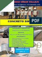 Concreto Simple Final