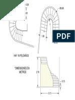 Escalera Caracol 03 Model