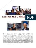 The Historic 2018 Mid-Term Elections