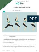 Como Aplicar o Pilates No Emagrecimento_ - Blog Pilates