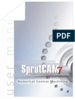 SprutCAM7 Manual manual usuario
