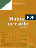 Manual de Estilo PERUANO (5ta Edición)