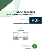 02.Kelompok 2- Keanekaragaman Hayati-Brillouin Index