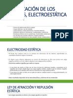 Electrización de Los Cuerpos, Electroestática