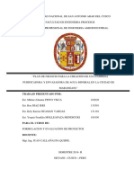 Universidad Nacional de San Antonio Abad Del Cusco Proyectos