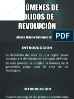 Volúmenes de Sólidos de Revolución