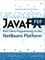 Paul Anderson Gail Anderson JavaFX Rich Client Programming on the NetBeans Platform 2014 Addison