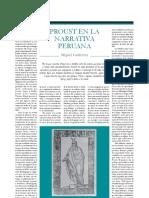 Proust en La Narrativa Peruana