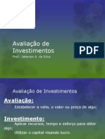 6 Avaliaodeinvestimentos 111009184238 Phpapp01