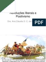 Revoluções Burguesas e Positivismo