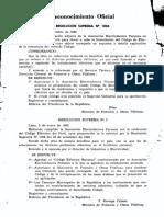 CODIGO ELECTRICO NACIONAL 1955